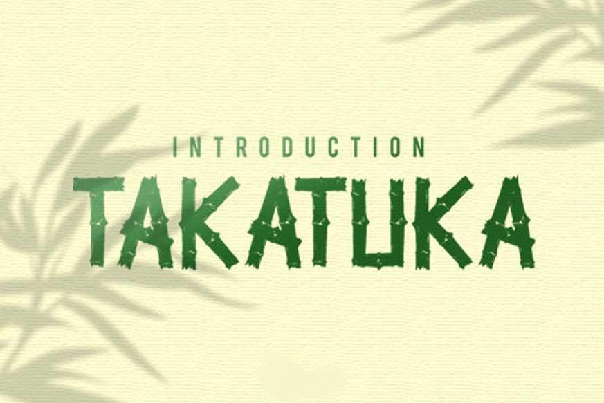 TakaTuka Font-1