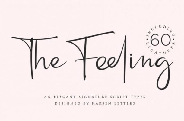 The Feeling Handwritten Font