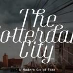 The Rotterdam City Font