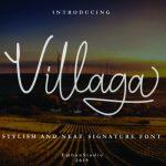 Villaga Handwritten Font