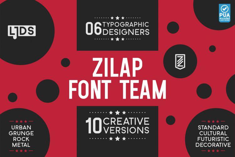 Zilap Font Team-1