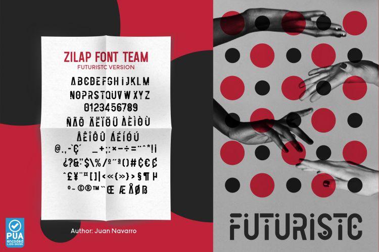 Zilap Font Team-3
