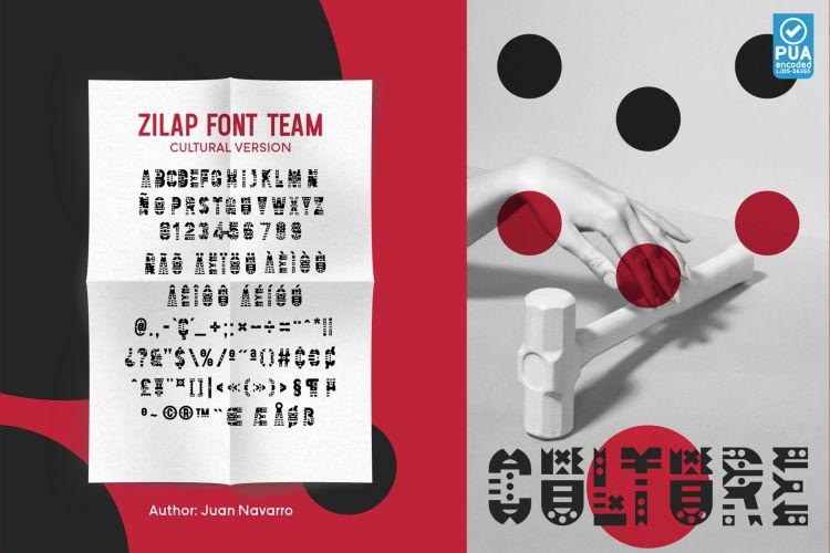 Zilap Font Team-4