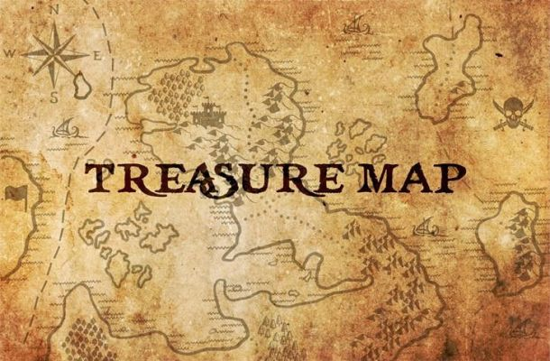 Treasure Map Font