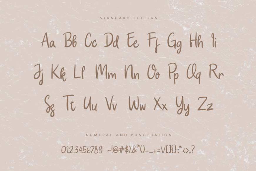 Attaya-Handwritten-Font-3