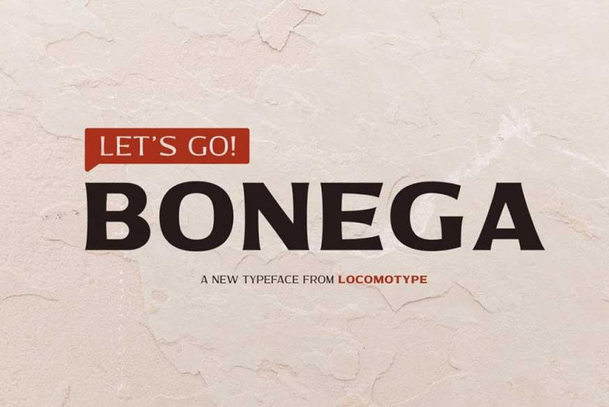 Bonega-Font