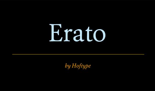 Erato Font Family