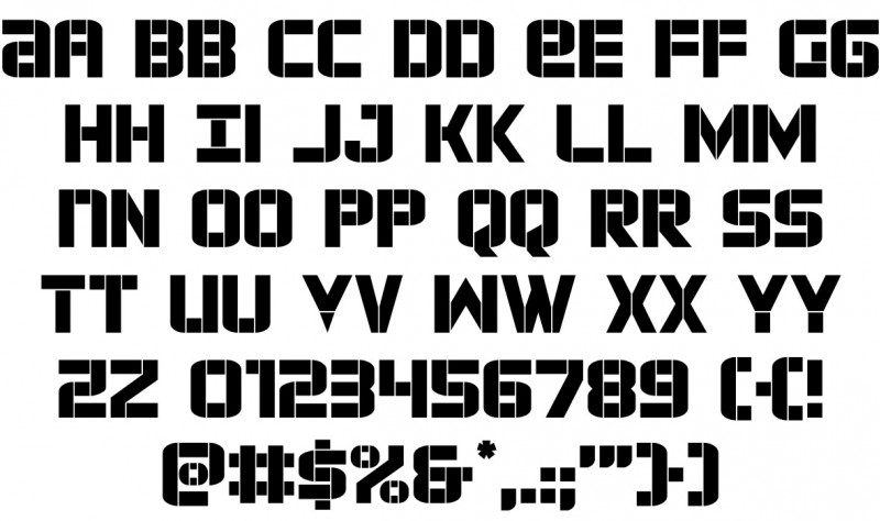 Force-Commander-Font-2