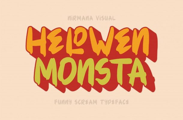 Hellowen Monsta Font