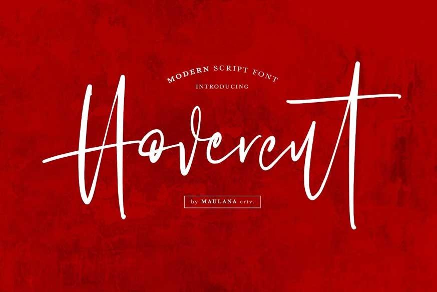 Hovercut-Brush-Script-Font-1
