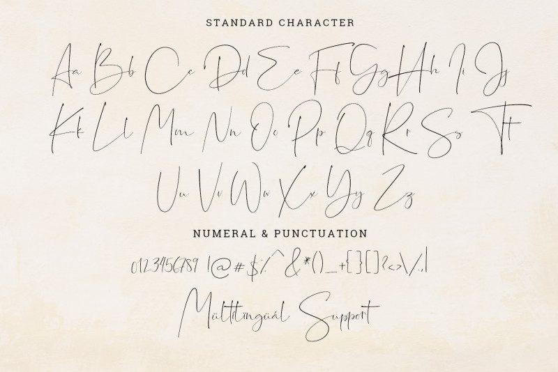 Jasmine Signature Font-2