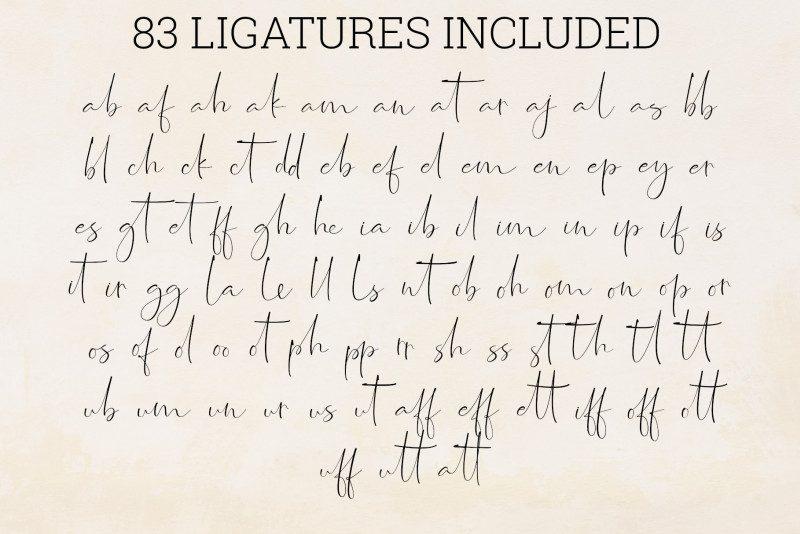 Jasmine Signature Font-3