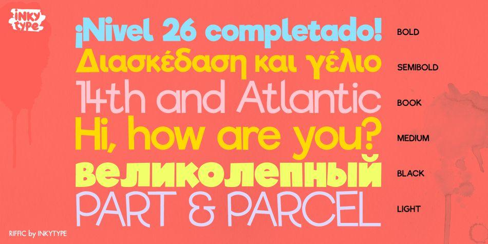 Riffic Font-2