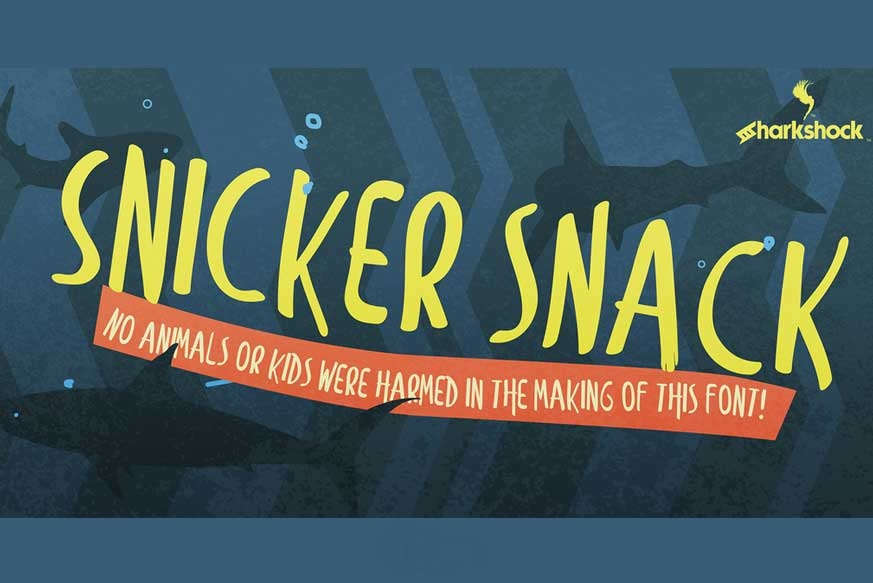 Snicker-Snack-Font