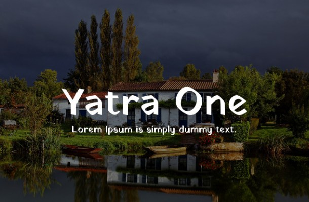 Yatra One Font