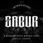 Zabur Font