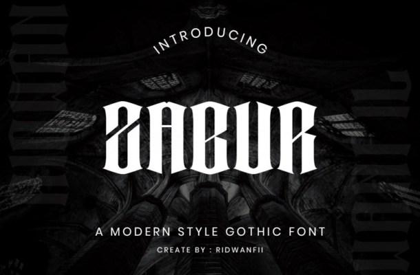Zabur Font-1