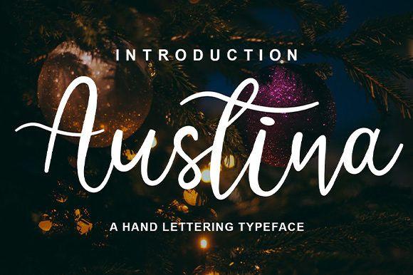 Austina Script Font