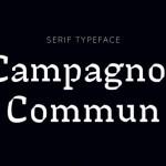 Campagnol Commun Font