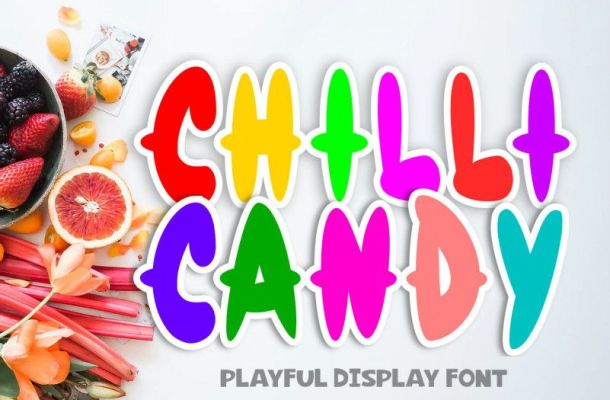Chilli Candy Font
