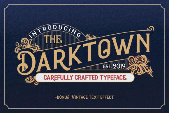 darktown-font-1
