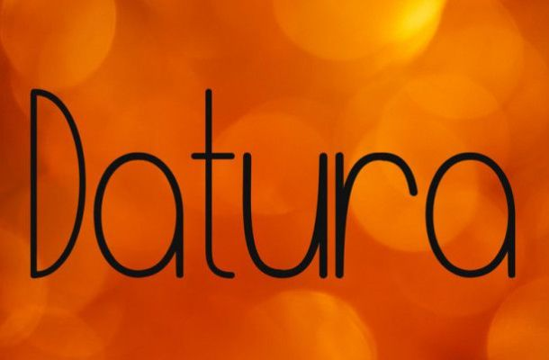 Datura Font