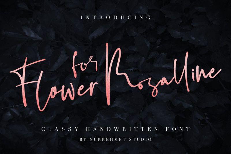 flower-for-rosalline-script-font-1