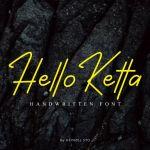 Hello Ketta Font