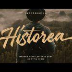 Historea Brush Font