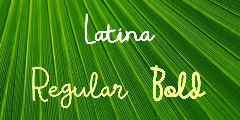 latina-font-1