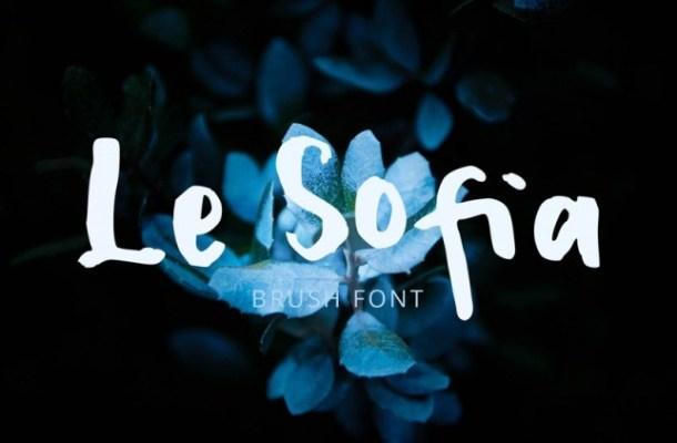 Le Sofia Font