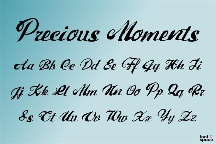 precious-moments-font-1