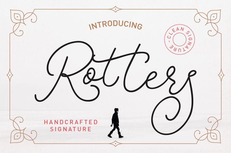 rotters-signature-font