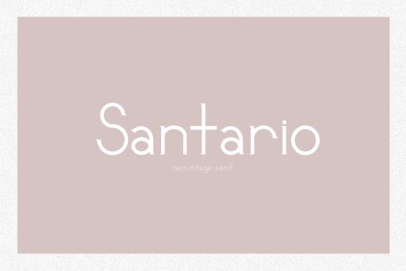 Santario Font