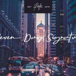 Seven Day Signature Font