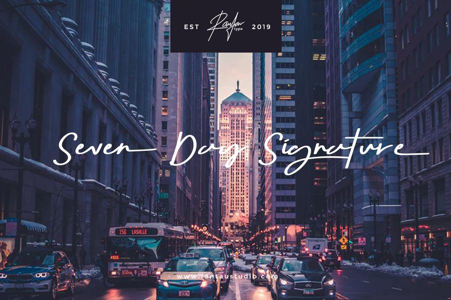 seven-day-signature-font-1