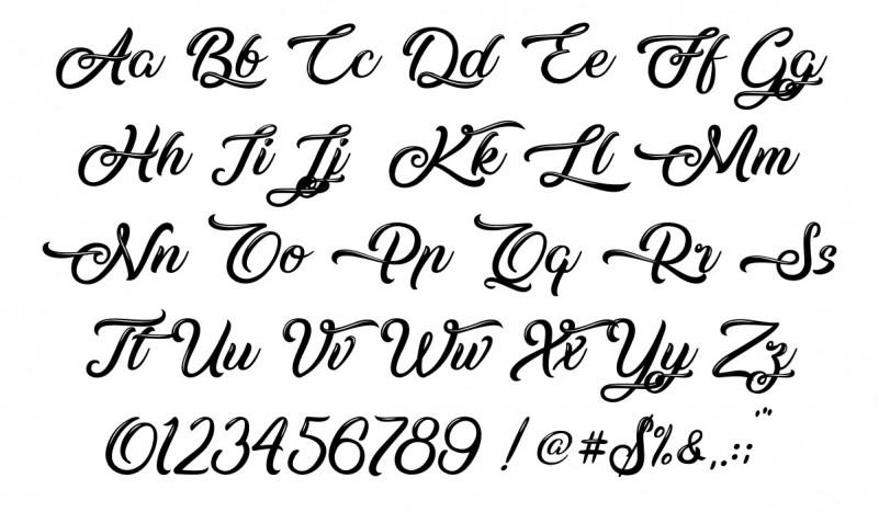 silent-asia-font-2