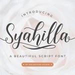 Syahilla Font