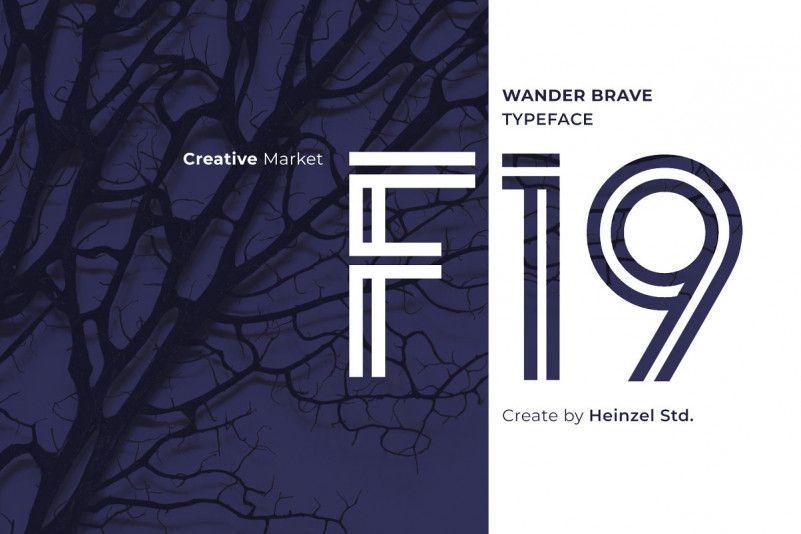 Download Wander Brave Font - Dafont Free