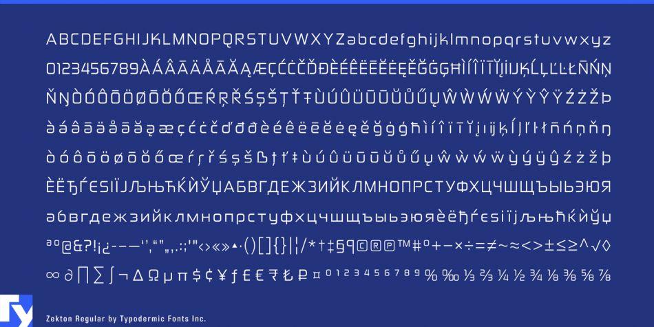 zekton-font-3