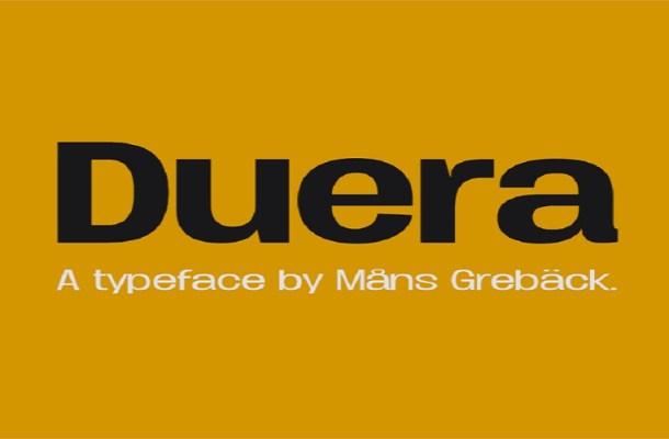 Duera Font Family