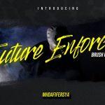 Future Enforcer Brush Font