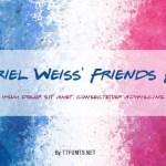Gabriel Weiss' Friends Font