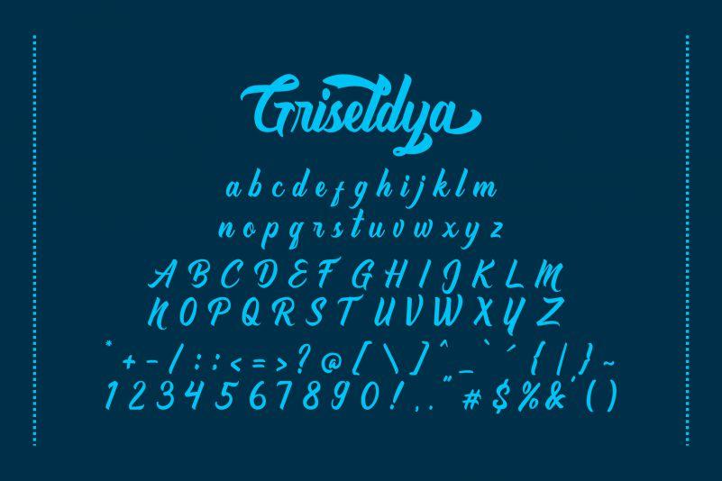 Griseldya Script Font-3