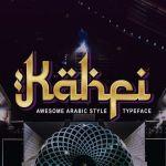 Kahfi Typeface
