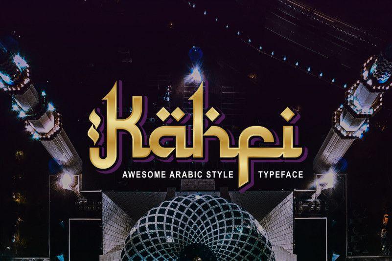 Kahfi Typeface-1