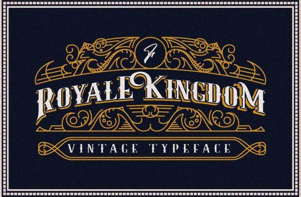 Royale Kingdom Font