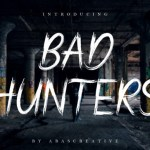 Bad Hunters Font
