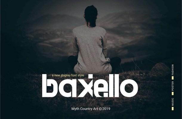 Baxello Font