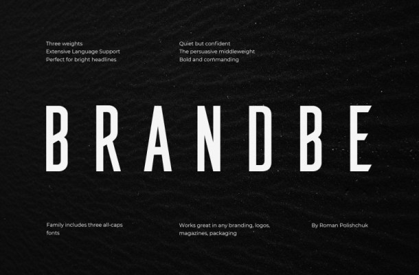Brandbe Sans Font